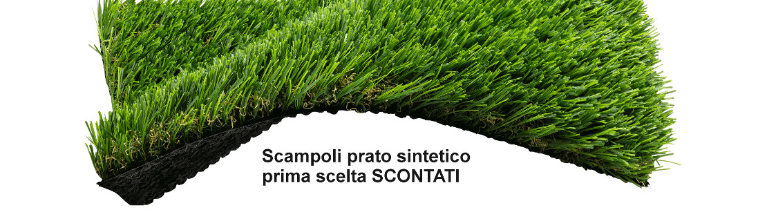 scampoli erba sintetica